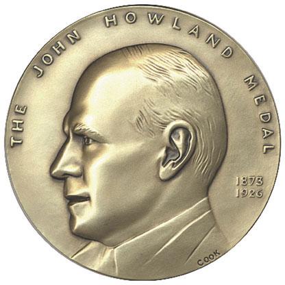 John Howland Award Medal